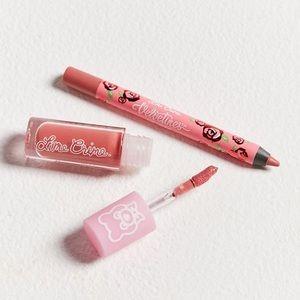 💖Lime Crime Mini Pink Lip Kit